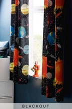 Space Eyelet Blackout Curtains
