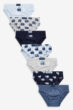7 Pack Days Of The Week Briefs (1.5-10yrs)