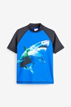 Shark Rash Vest (3-16yrs)