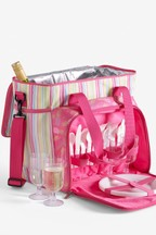4 Person Filled Pineapple Picnic Cool Bag