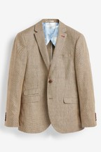 Joules Slim Fit Wool/Linen Blazer