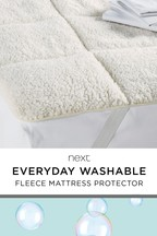 Super Soft Fleece Mattress Topper
