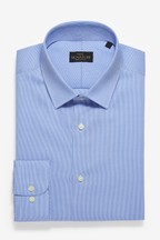 Slim Fit Puppytooth Check Signature Shirt