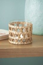 Natural Woven Tealight Holder