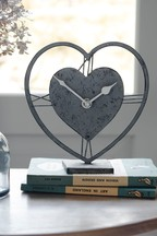 Vintage Effect Metal Clock
