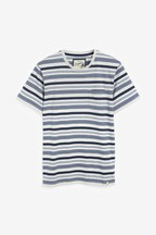 Fine Stripe Regular Fit T-Shirt