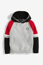 Sporty Colourblock Knitted Hoody (3-16yrs)