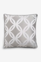 Manhattan Woven Geo Cushion
