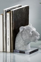 Portia The Diamanté Panther Bookend