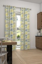 Meadow Floral Juniper Green Made To Measure Curtains