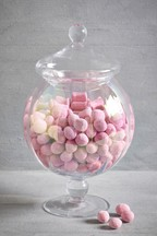 Lustre Glass Bonbon Jar