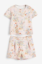 Floral Printed Short and Top Set (3-16yrs)