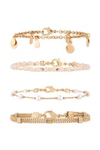 Accessorize Pink Pretty Pearly Friendship Bracelet Pack