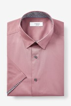 Stretch Poplin Short Sleeve Shirt