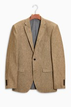 Leomaster Signature Linen Suit: Jacket