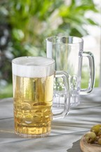 Set of 2 Plastic Beer Tankards