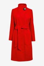 Belted Wrap Coat