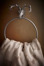 Stag Towel Ring