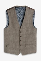 Empire Mills Signature Check Suit: Waistcoat