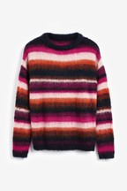Stripe Brushed Jumper