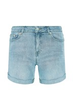 F&F Light Wash Boyfriend Short