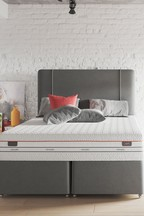 Verve Grey Headboard By Dunlopillo