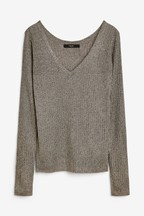 Shimmer Long Sleeve Top