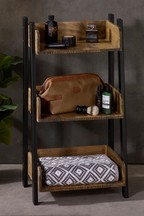 Bronx Three Shelf Storage Unit