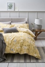 Butterfly Print Duvet Cover And Pillowcase Set