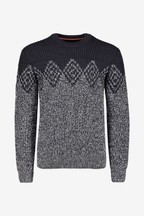 Superdry Navy/Grey Ombre Jumper