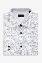 Signature Slim Fit Single Cuff Floral Shirt