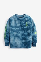 Tie Dye Crew Neck Top (3-16yrs)