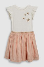 Sequin Short Sleeve Dress (3-16yrs)
