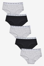 5 Pack Hipster Briefs (2-16yrs)