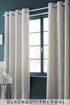 Geo Lines Blackout Curtains