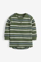Long Sleeve Textured Stripe T-Shirt (3mths-7yrs)