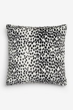 Dalmatian Spot Faux Fur Cushion