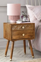 Lloyd 2 Drawer Bedside Table
