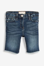 Long Length Denim Shorts (3-16yrs)
