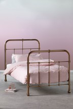Galexia Metal Copper Bed