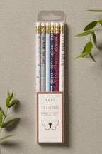 Set of 6 Patterned Pencils