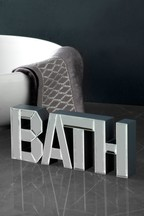 Mirror Bath Word Block
