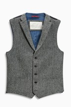 Herringbone Harris Tweed Signature Waistcoat