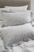 Set of 2 Paisley Print Pillowcases