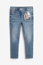 Embroidered Star Jeans With Sequin Bag (3-16yrs)