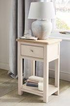 Hampton Slim 1 Drawer Bedside Table