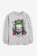 Long Sleeve Gorilla T-Shirt (3-16yrs)