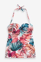 Shape Enhancing Bandeau Tankini Top