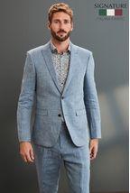 Nova Fides Signature Linen Suit: Jacket