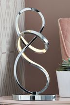 LED Sculptural Touch Table Lamp